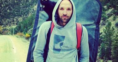 Mačka koja planinari!