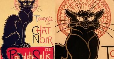 Crna mačka - najpoznatiji poster sa mačkom na svetu