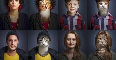 Mačke i njihovi vlasnici kao dvojnici