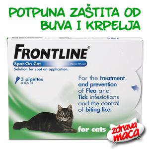 Frontline - potpuna zastita od buva i krpelja