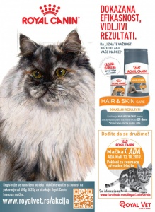 Royal Canin AKCIJA za vlasnike mačaka
